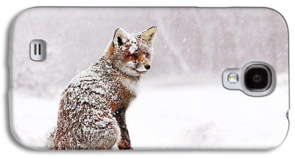 Red Fox In A White Winter Wonderland Galaxy S4 Case