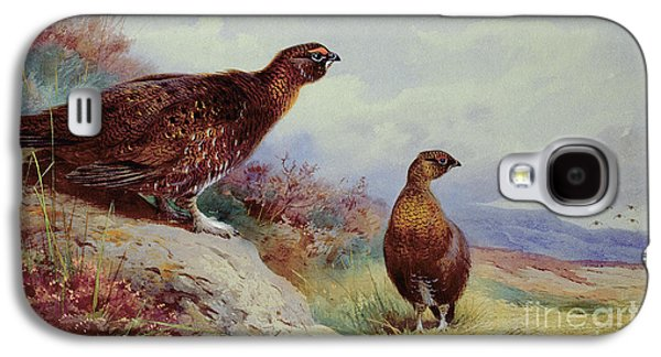 Red Grouse On The Moor, 1917 Galaxy S4 Case