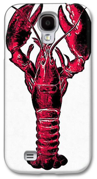 Red Lobster Galaxy S4 Case by Edward Fielding