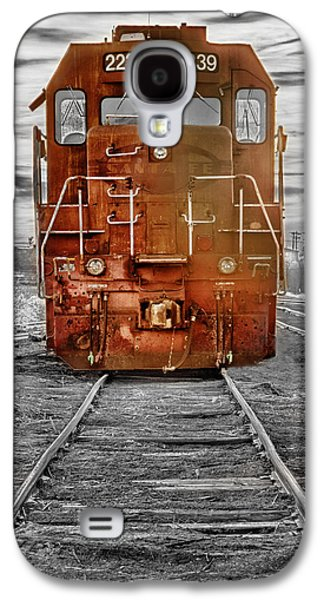 Red Locomotive Galaxy S4 Case by James BO  Insogna