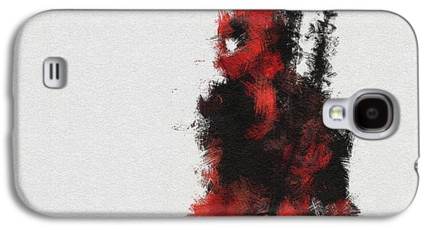 Red Ninja Galaxy S4 Case by Miranda Sether