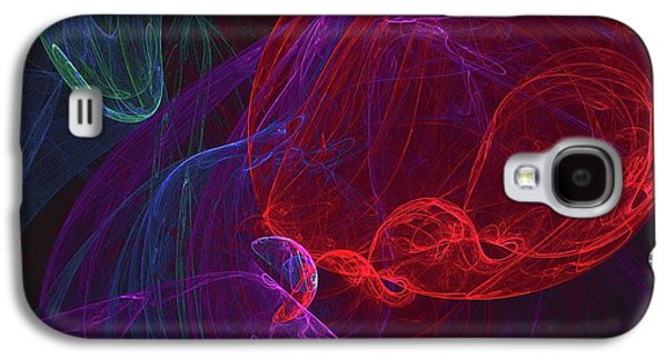 Red Orb Galaxy S4 Case