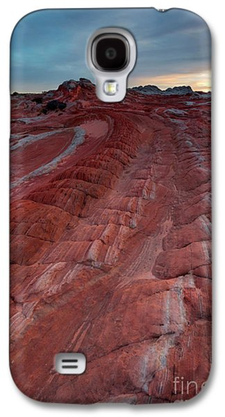 Red Ribbon Sunset Galaxy S4 Case