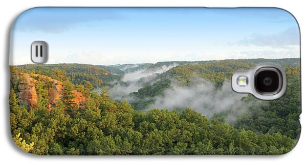Red River Gorge Kentucky View Of Chimney Top Rock At Sunset Galaxy S4 Case