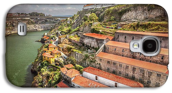 Red Roofs Of Porto Galaxy S4 Case