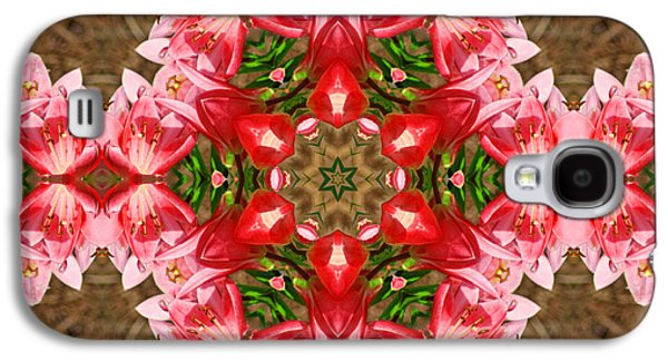 Galaxy S4 Case featuring the photograph Red Rose Kaleidoscope by Bill Barber