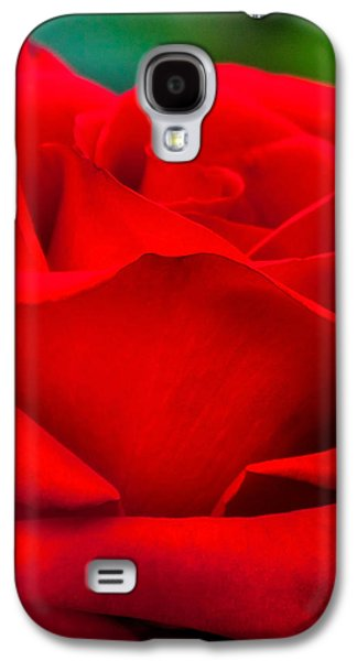 Red Rose Petals 2 Galaxy S4 Case by Az Jackson