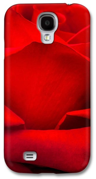 Red Rose Petals Galaxy S4 Case by Az Jackson
