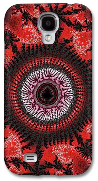 Red Spiral Infinity Galaxy S4 Case