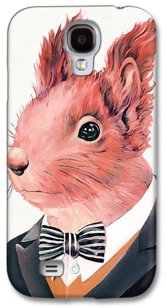 Red Squirrel Galaxy S4 Case by Animal Crew