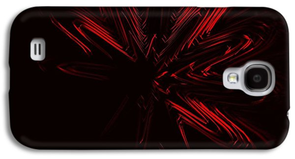 Red Star Galaxy S4 Case by Contemporary Art