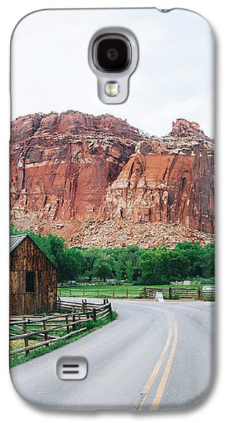 Red Stone Mountain  Galaxy S4 Case