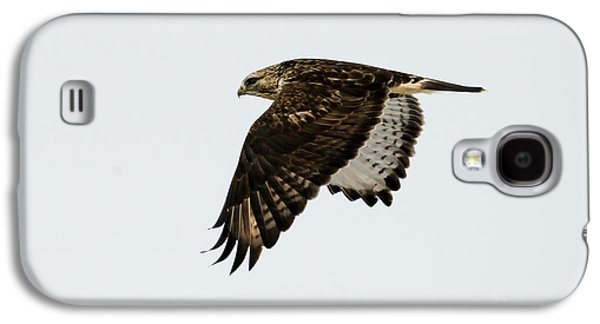 Red-tail Wings Down Galaxy S4 Case by Mike Dawson
