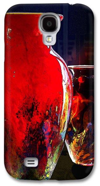Red Vase Galaxy S4 Case