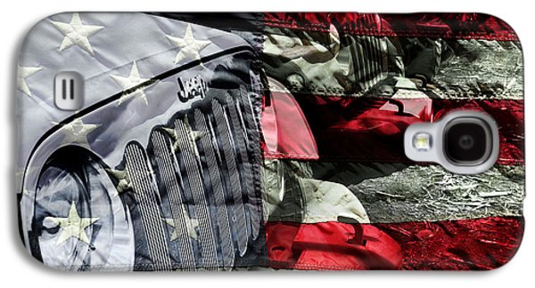 Red White And Jeep Galaxy S4 Case