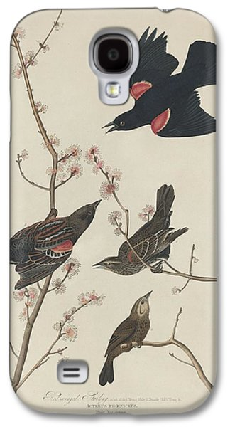 Red-winged Starling Galaxy S4 Case