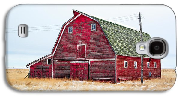 Red Winter Barn Galaxy S4 Case