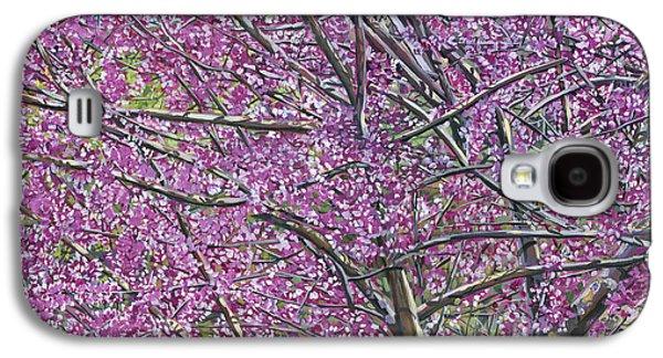 Redbud Tree Galaxy S4 Case