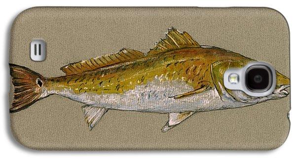Redfish Painting  Galaxy S4 Case