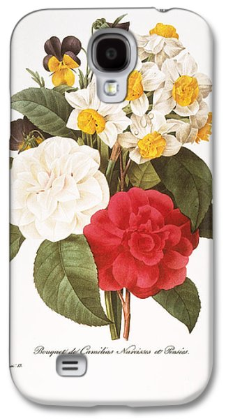 Redoute: Bouquet, 1833 Galaxy S4 Case by Granger