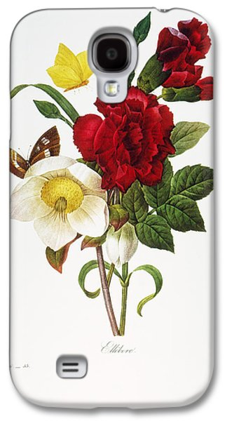 1833 Galaxy S4 Cases - Redoute: Hellebore, 1833 Galaxy S4 Case by Granger