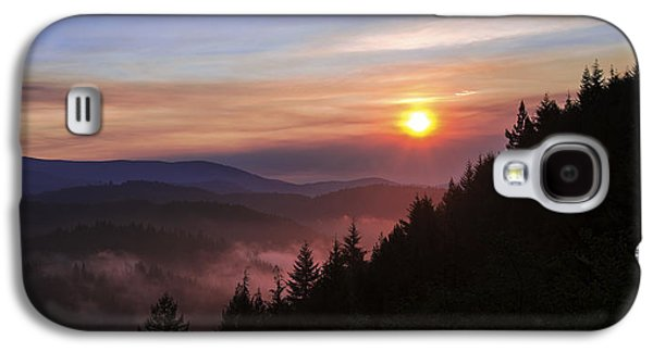 Redwood Sun Galaxy S4 Case by Chad Dutson