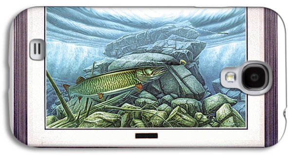 Reef King Musky Galaxy S4 Case by JQ Licensing