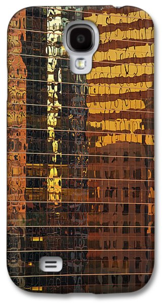 Chicago River Galaxy S4 Cases - Reflecting Chicago Galaxy S4 Case by Steve Gadomski