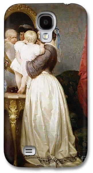Reflections Of Maternal Love Galaxy S4 Case by Robert Julius Beyschlag