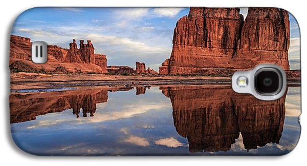 Reflections Of Organ Galaxy S4 Case by Edgars Erglis
