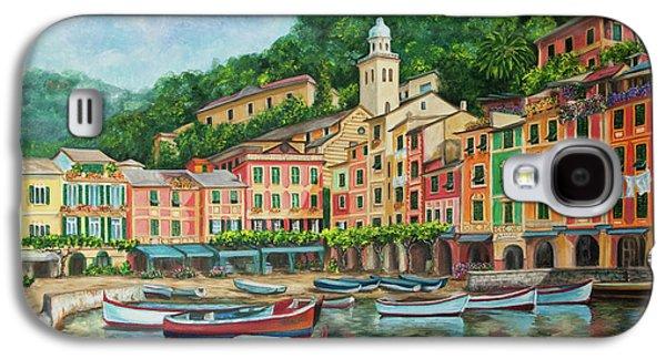 Reflections Of Portofino Galaxy S4 Case by Charlotte Blanchard