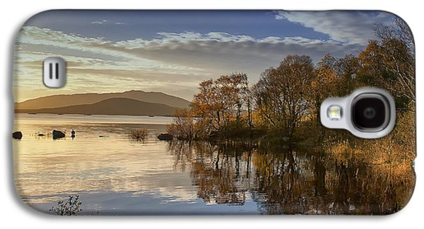 Reflections On Lough Cullin Galaxy S4 Case by Frank Fullard