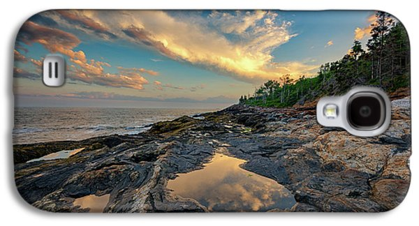 Reflections On Muscongus Bay Galaxy S4 Case by Rick Berk