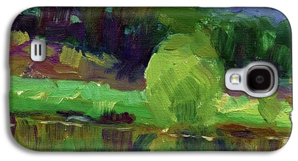 Colorful Galaxy S4 Case - Reflections Painting Study By Svetlana by Svetlana Novikova