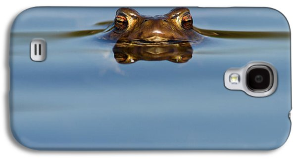 Reflections - Toad In A Lake Galaxy S4 Case by Roeselien Raimond