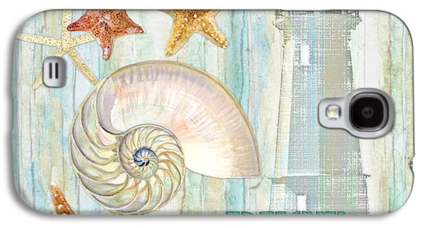 Refreshing Shores - Rest Relax Refresh Galaxy S4 Case by Audrey Jeanne Roberts