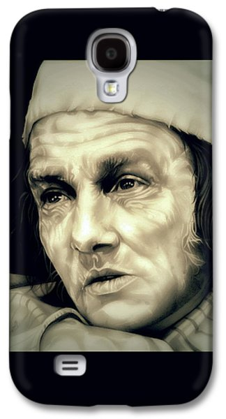 Regret Scrooge Galaxy S4 Case by Fred Larucci
