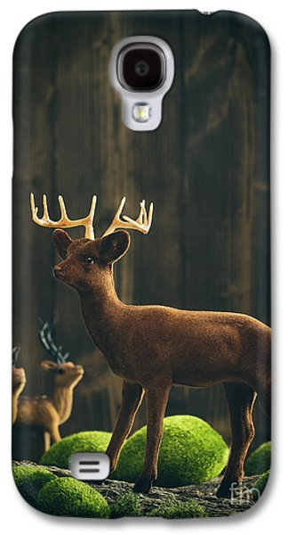 Reindeer Galaxy S4 Case by Amanda Elwell