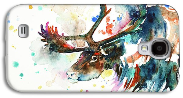 Reindeer Galaxy S4 Case by Zaira Dzhaubaeva