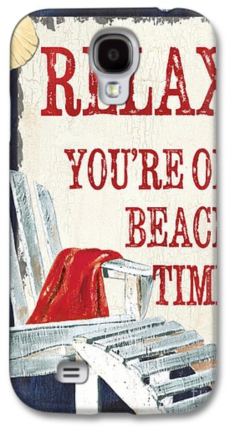 Relax You're On Beach Time Galaxy S4 Case by Debbie DeWitt