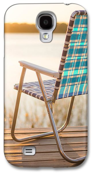 Relaxing At The Lake Galaxy S4 Case by Shelby  Young