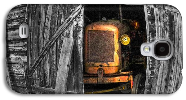 Shed Digital Art Galaxy S4 Cases - Relic From Past Times Galaxy S4 Case by Heiko Koehrer-Wagner