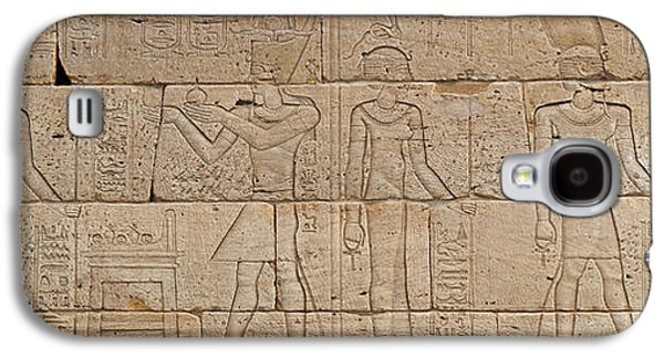 Relief From The Temple Of Dendur Galaxy S4 Case
