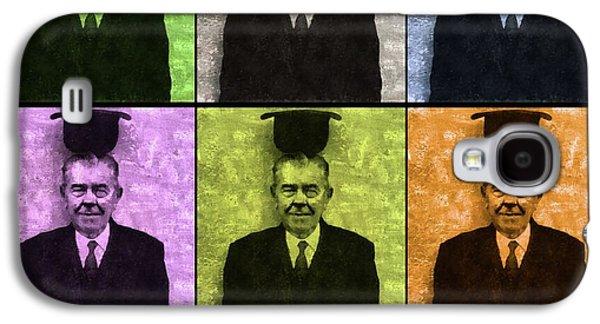 Rene Magritte, Artist Galaxy S4 Case by Mary Bassett