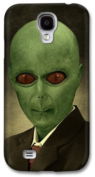 Resident Professor Of Interplanetary Research Area 51 Galaxy S4 Case by Movie Poster Prints