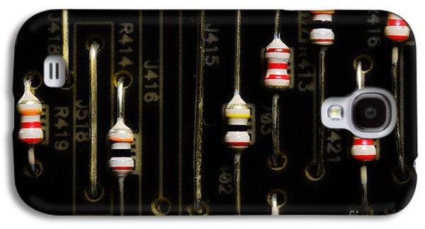 Resistors Galaxy S4 Case by Michael Eingle