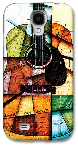 Guitar Galaxy S4 Case - Resonancia En Colores by Gary Bodnar