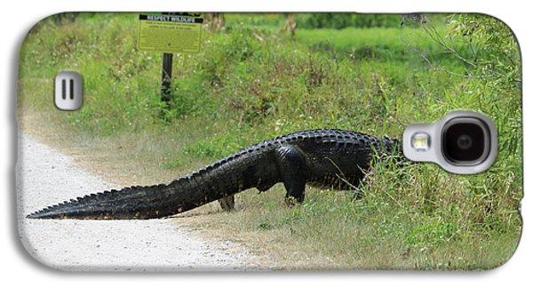Respect Wildlife Large Gator Galaxy S4 Case