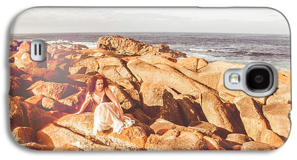 Resting On A Cliff Near The Ocean Galaxy S4 Case by Jorgo Photography - Wall Art Gallery