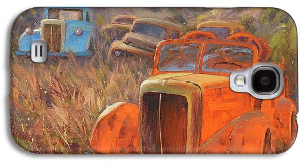 Truck Galaxy S4 Case - Retired Fireman by Cody DeLong